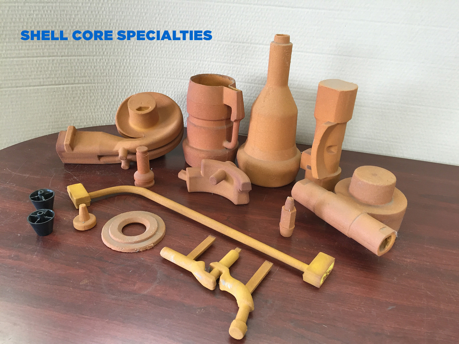 Shell Cores Specialties